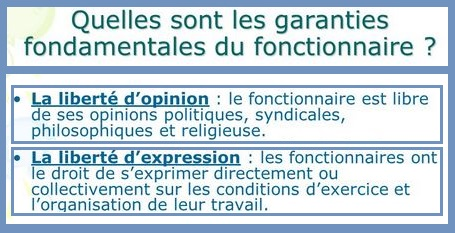 294f58f1612 La liberté d opinion et liberté d expression du fonctionnaire. - Cours de  droit