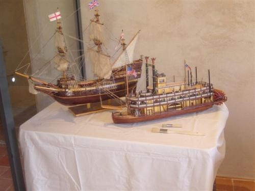 Visite et exposition au prieuré de Salaise.