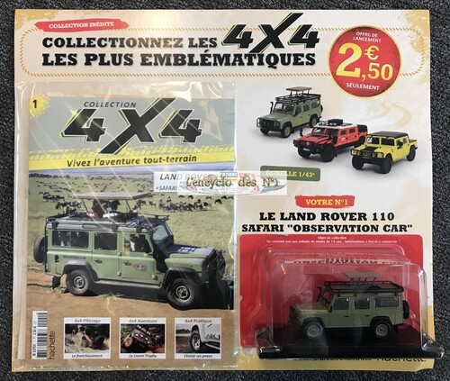 N° 1 Collection 4x4 - Test