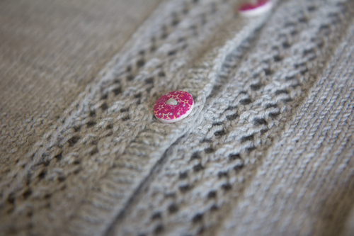 Mylène - Tricot : Gilet Hinami - Knit Test