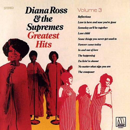 """Diana Ross & The Supremes : Album """"  Greatest Hits Volume 3 """" Motown Records MS 702 [ US ]"""