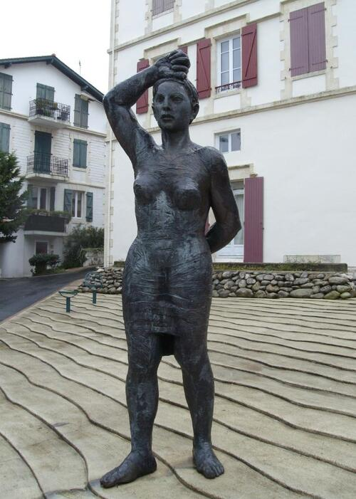 """La femme basque"" de Fransisco Leiro"