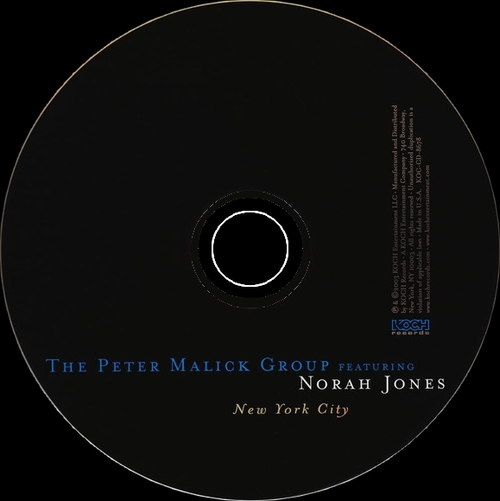 "The Peter Malick Group Feat. Norah Jones : CD "" New York City "" Koch Records KOC-CD-8678 [ US ]"
