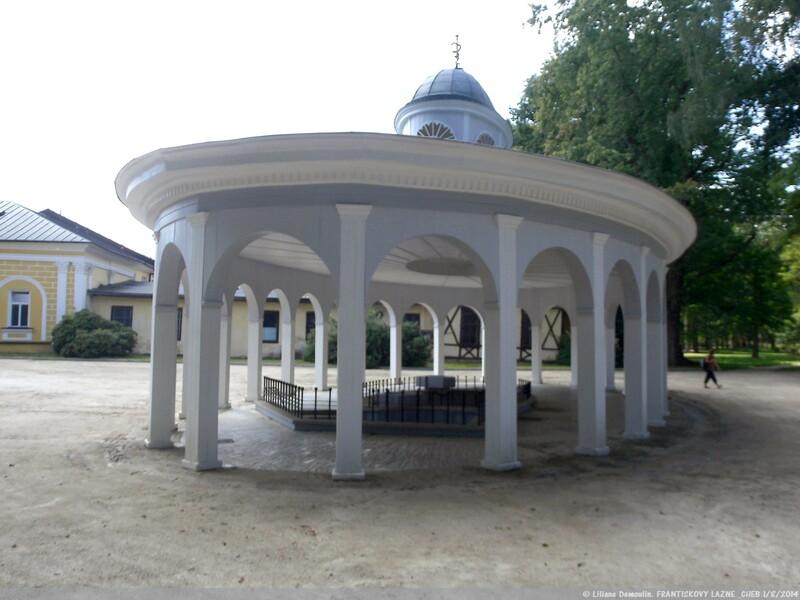 Františkovy Lázně une magnifique petite ville thermale