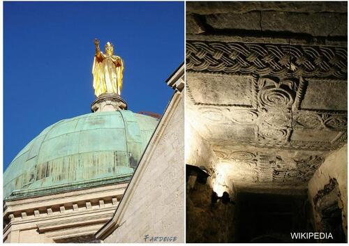 """Le """"voile de Sainte Anne"""" - cathédrale d'Apt"""