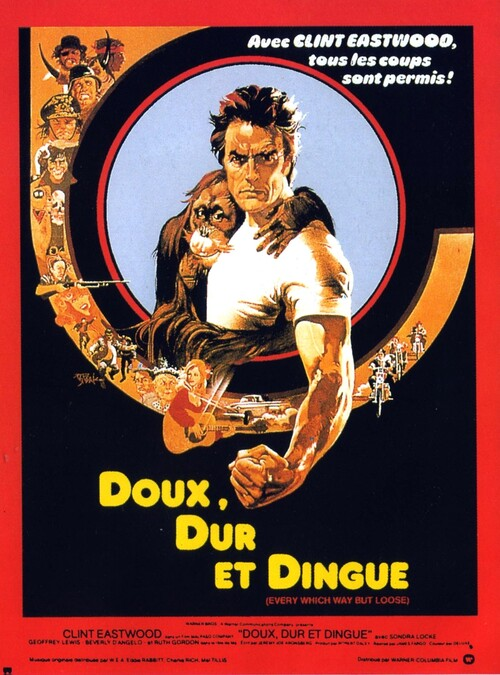 DOUX DUR ET DINGUE -  BOX OFFICE CLINT EASTWOOD 1979
