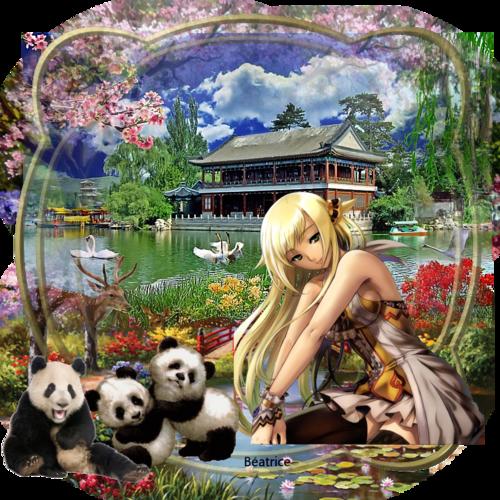 défi Lara0011''Nina la petite manga''