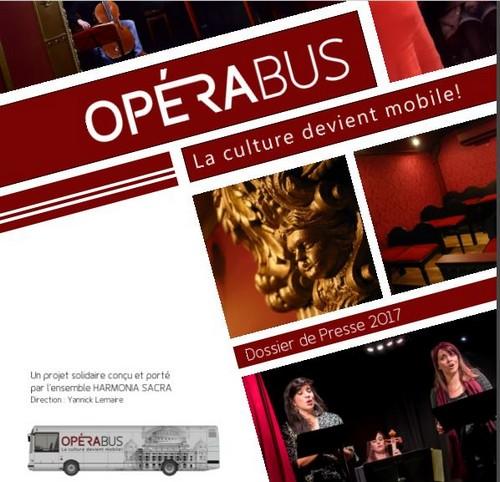 L'OPERA BUS sera demain et après-demain à Châtillon et à Laignes !