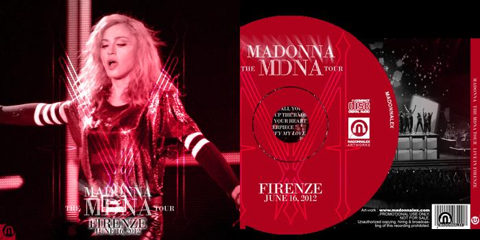 The MDNA Tour - Full Audio Firenze
