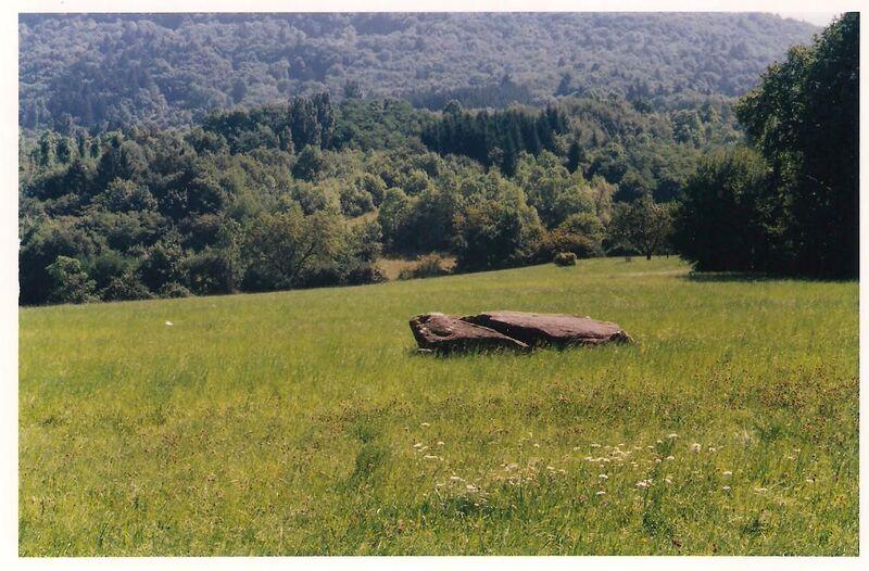 Le dolmen de St Cergues