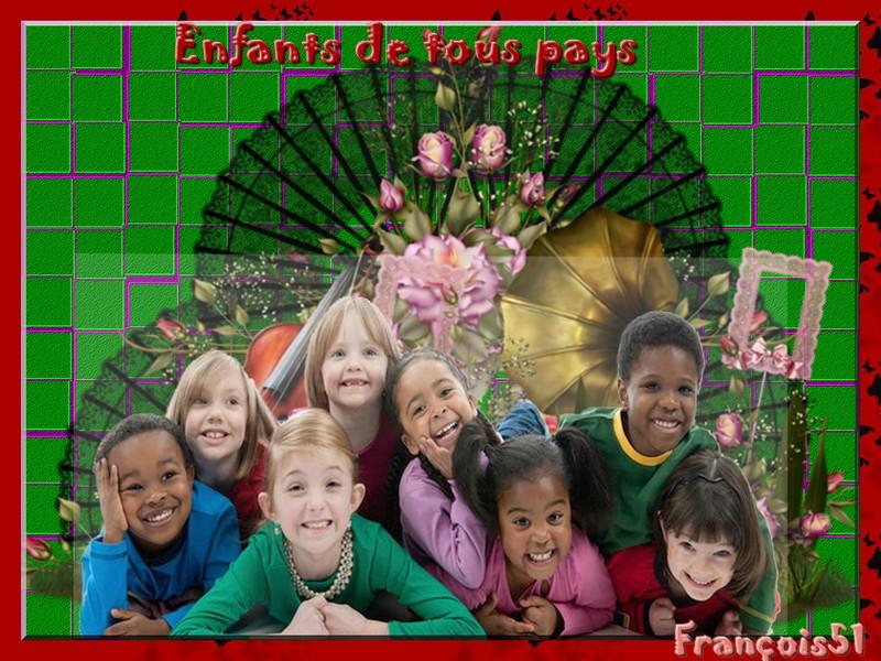 Défi enfants de tous pays pour Marjolaine !