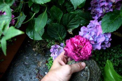 Making-of : une bonbonnière fleurie