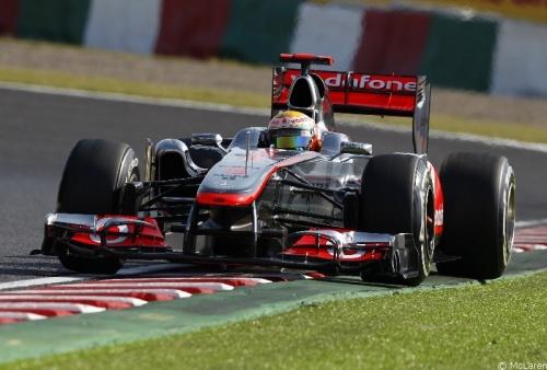 GP Japon - Qualifications : Hamilton 3° Button 2°