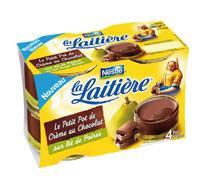 Petit pot de crème poire/chocolat