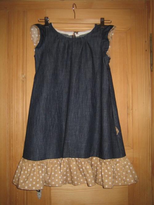 Une robe transformée !!