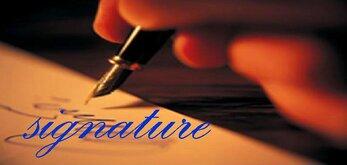 Signatures à Paris