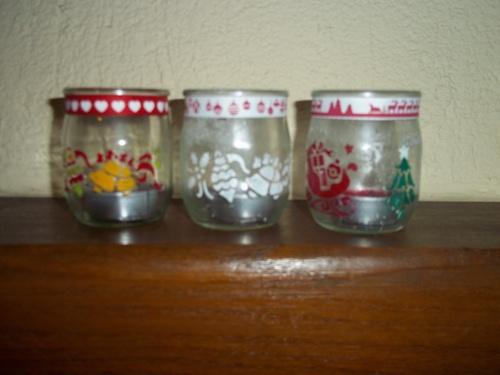 Lumignons- recyclagle de pot en verre