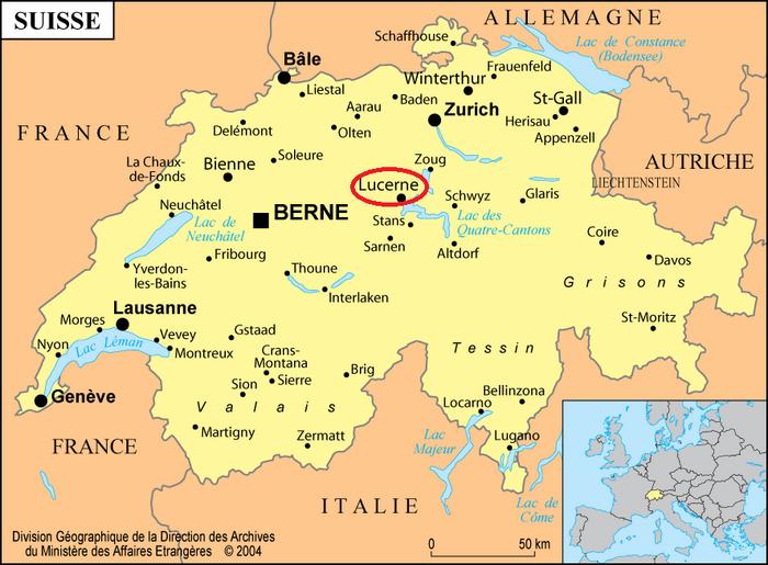 Une Jolie Balade En Suisse Dans Le Canton De Lucerne