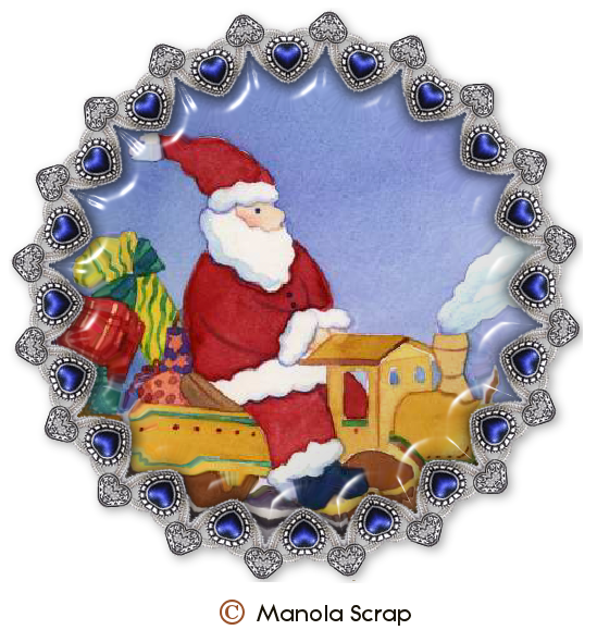 Médaillons du père Noël page 1