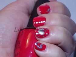 nail art coca cola