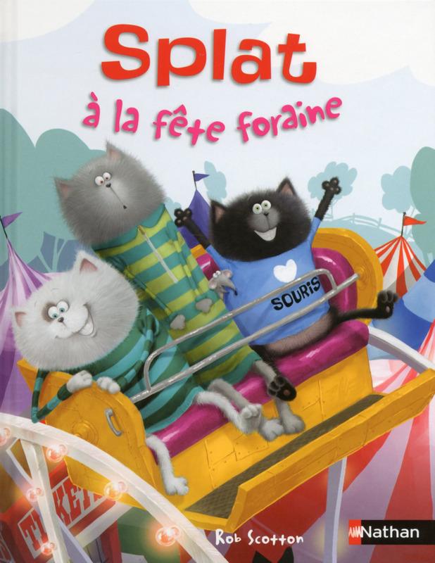 """""""Splat à la fête foraine"""" des éditions NATHAN"""