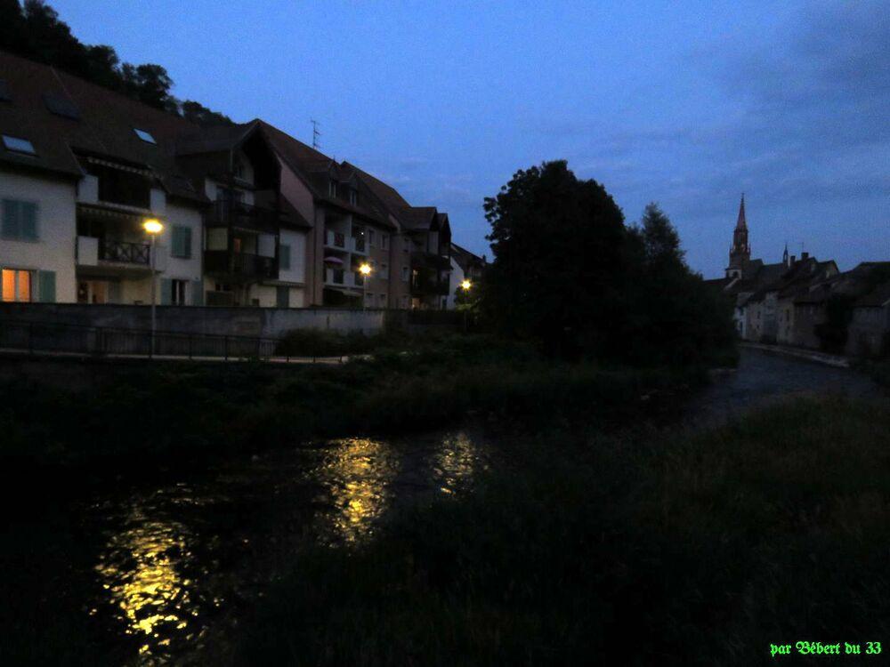 le soir à Thann - 4