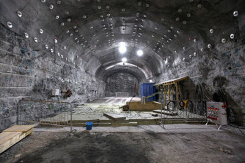 Onkalo: Nuclear waste storage in Finland.