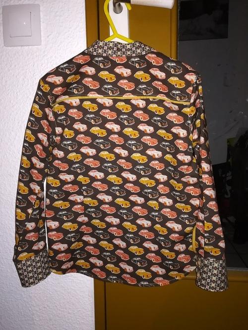 Une chemise pour mon bonhomme