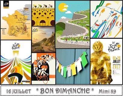 Bon Dimanche ! le tour de France