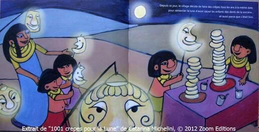 1 001 crêpes pour la Lune,Catarina MICHELINI