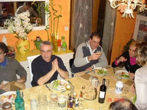repas du groupe 26 janvier 2013