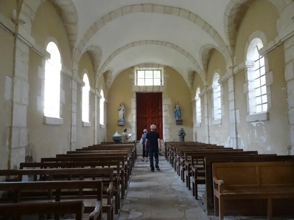 """""""Un jour, une église"""" nous a permis de visiter l'église de Vertault"""