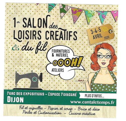 1er salon Dijon (21) 3, 4, 5 avril