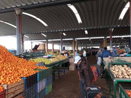 de beaux fruits et légumes
