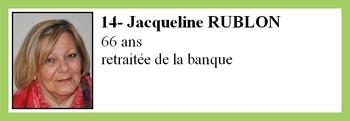 14- Jacqueline RUBLON