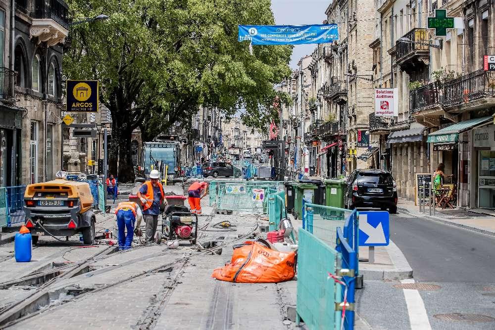 Le dénouement est proche pour les commerçants et riverains de la rue Fondaudège longtemps impactés par les travaux