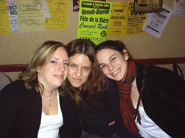 Moi, Cathy et Laurie