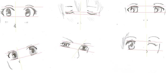 Des Yeux Symetriques Apprendre La Bande Dessinee Et Le Manga