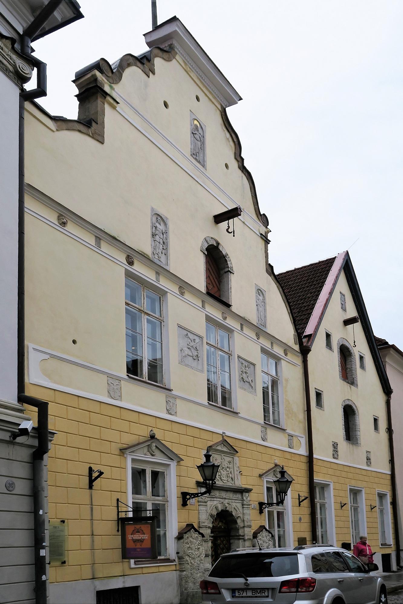 TALLINN (EST) Demeures Hanséatique
