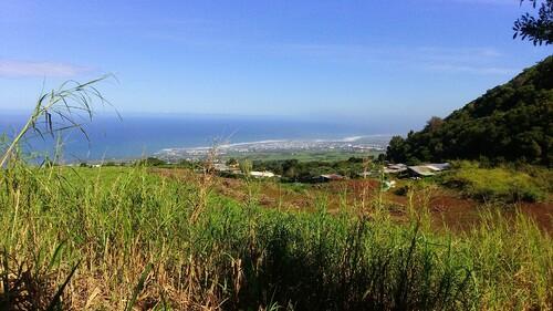 St-Pierre depuis le Piton de Mont Vert
