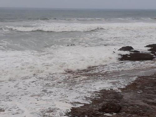 L'océan en furie