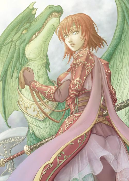 Minerva-ChevalierWyverne-Princesse de Medon-Fire Emblem