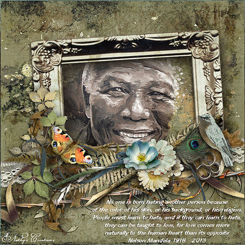 nelson mandela - poesies, citations, cartes