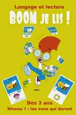 Pour un apprentissage multisensoriel de la lecture : Boom je lis !