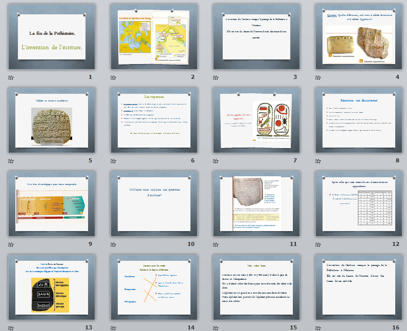 Histoire La Fin De La Prehistoire L Invention De L Ecriture