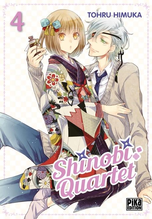 Shinobi quartet - Tome 04 - Tohru Himuka
