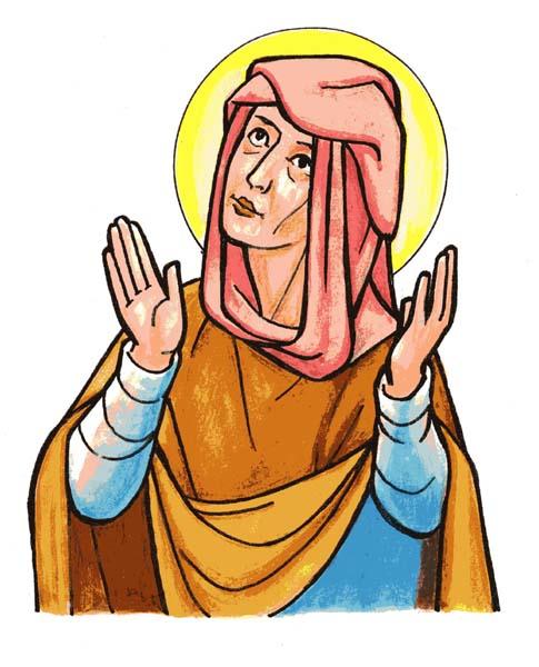 Bienheureuse Alde. Tertiaire des Humiliés († 1309)