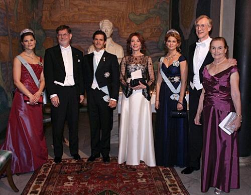 Ceremonies du prix Nobel-Victoria de Suede
