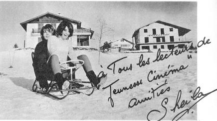 Janvier 1965 : Débuts au ski...