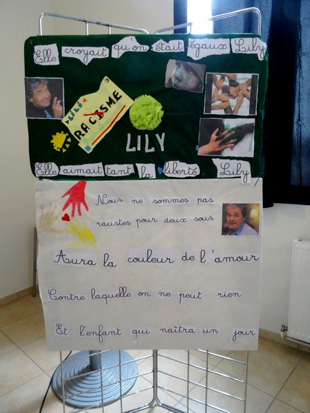 Pierre Perret a rencontré les enfants de la MJC Lucie Aubrac...